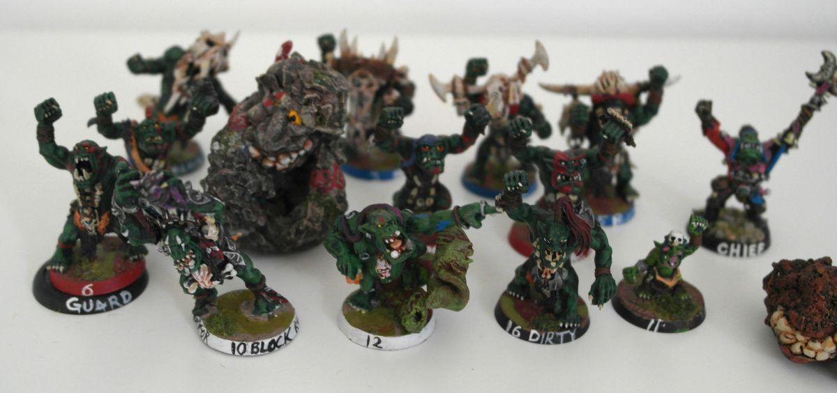BloodBowl Orc Team – Bubba´sBrawlerz